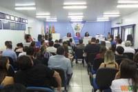 8ª SESSÃO DO PARLAMENTO JOVEM  DESCANSENSE DO ANO DE 2018