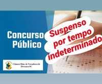 Concurso Público nº 001/2020 da Câmara Mun. de Vereadores de Descanso está suspenso por tempo indeterminando