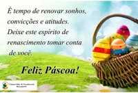 Feliz Páscoa !!!