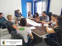 Presidente do Poder Legislativo se reúne com diretores e representantes das escolas municipais/estaduais e particular do município e a Secretária de Educação