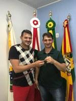 TRANSIÇÃO OFICIAL DA CHAVE DA CASA LEGISLATIVA