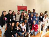 Vereadores Mirins de Descanso participaram no X Encontro Estadual de Vereadores Mirins na Assembleia Legislativa de Santa Catarina
