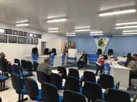 Vereadores realizam reunião em dois momentos, às 14h e às 15h
